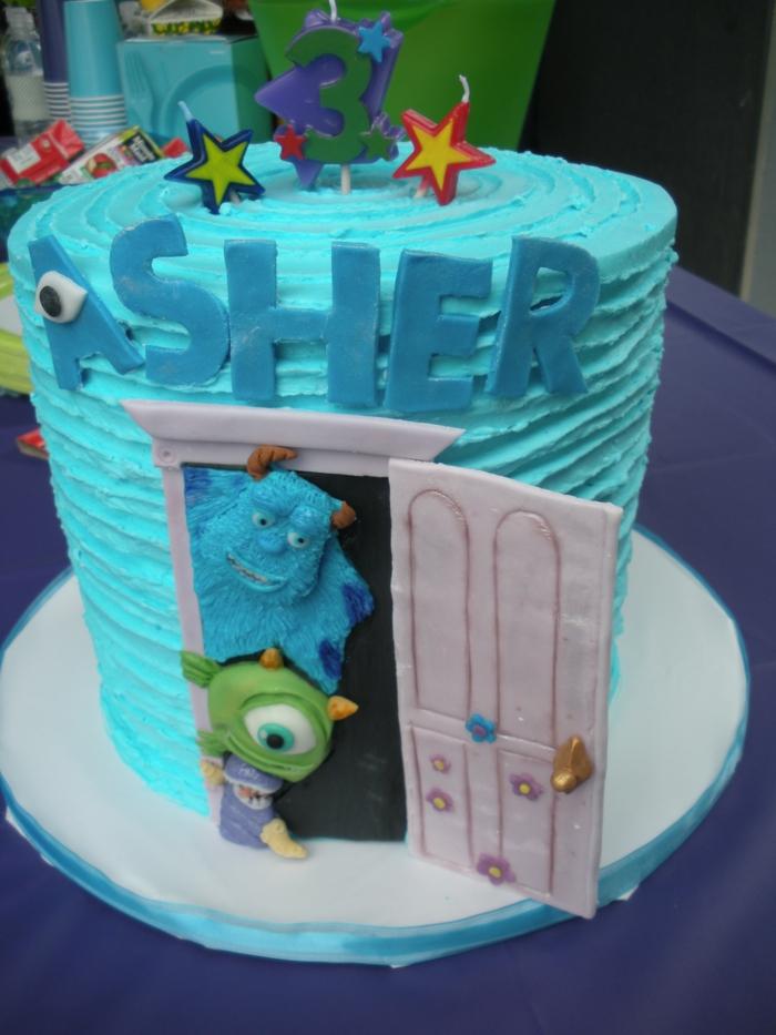 boo-monstre-et-compagnie-idée-anniversaire-thème-gateau-anniversaire-garcon