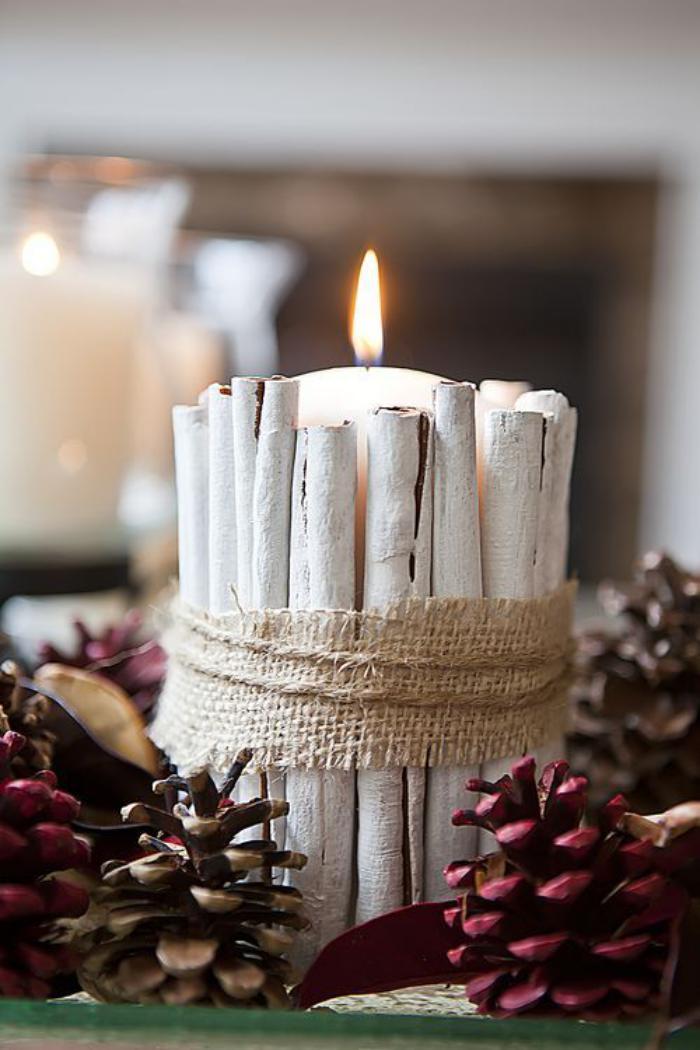 bougie-blanche-décoration-de-Noel-miraculeuse