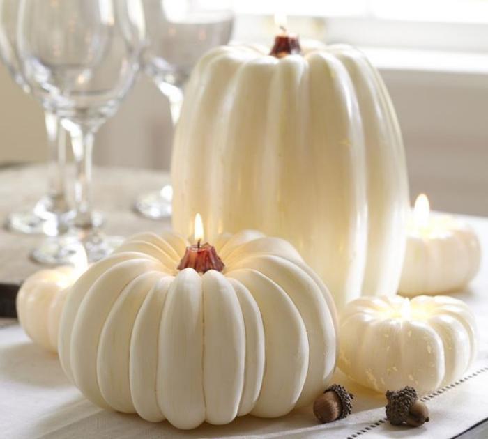 bougie-blanche-idées-déco-avec-bougies