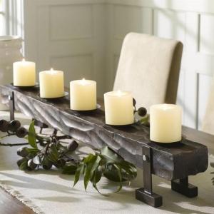 Créez une merveilleuse décoration avec la bougie blanche