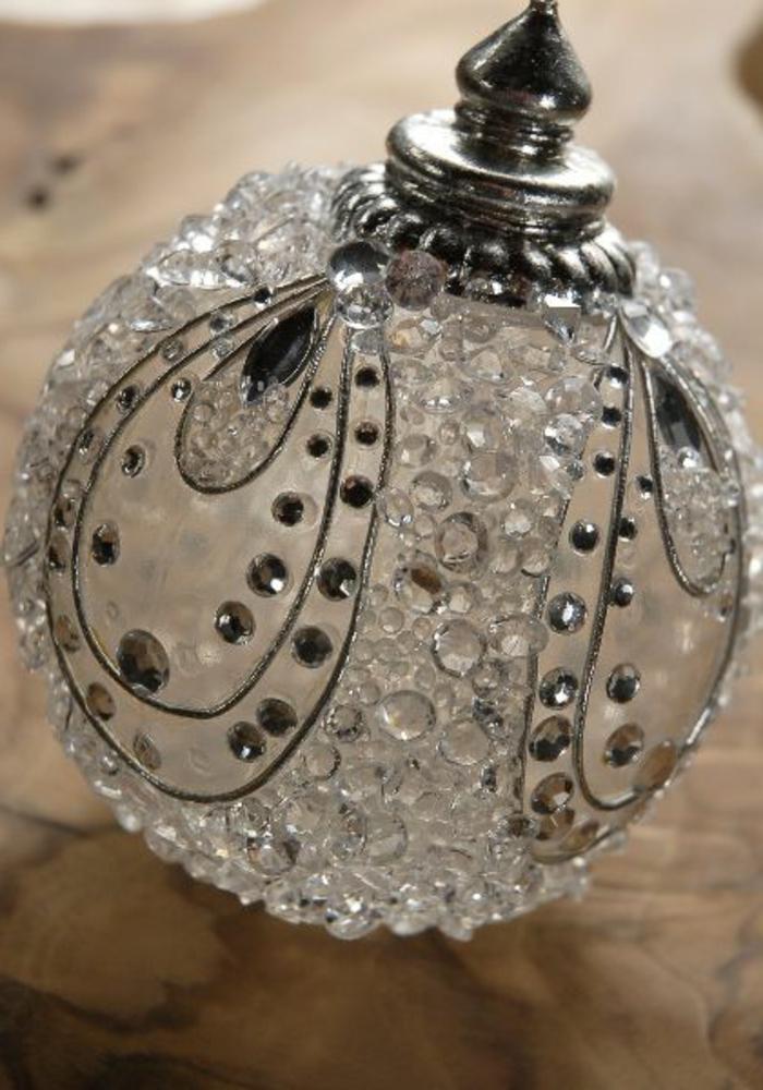 Boule De Decoration Transparente : Diy idées pour créer une boule de noël originale