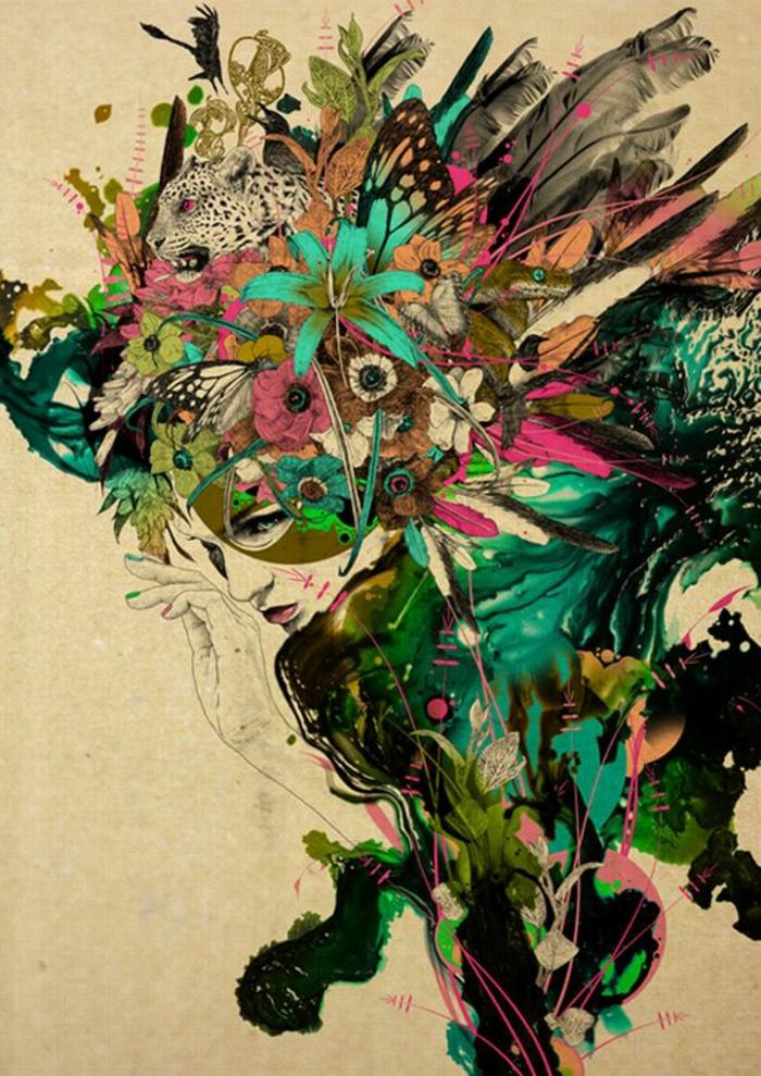 bts-art-graphique-art-ecran-art-graphique-cool-idée