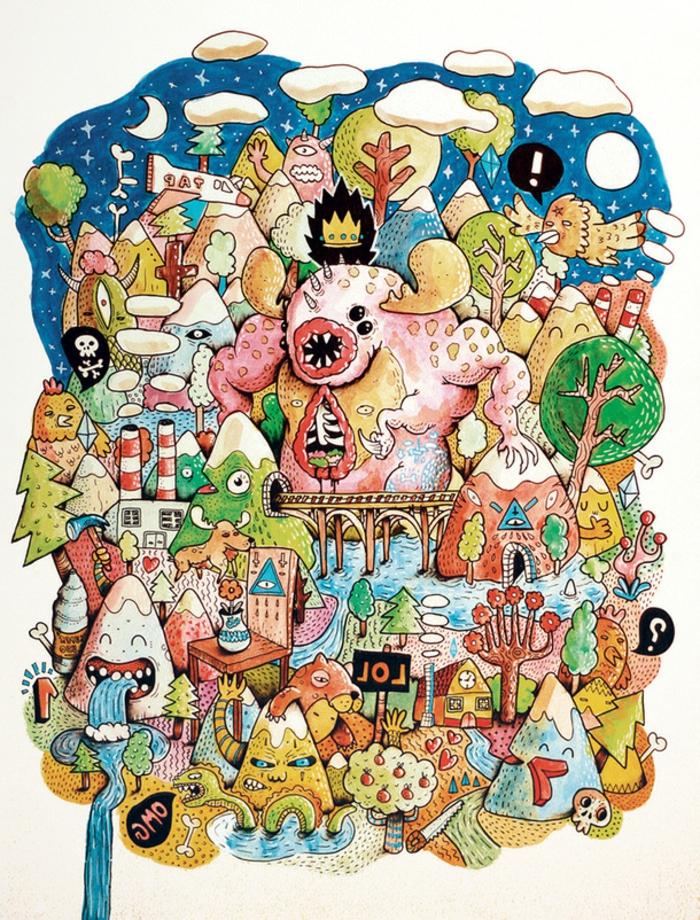 bts-art-graphique-art-ecran-art-graphique-idée-originale-monde