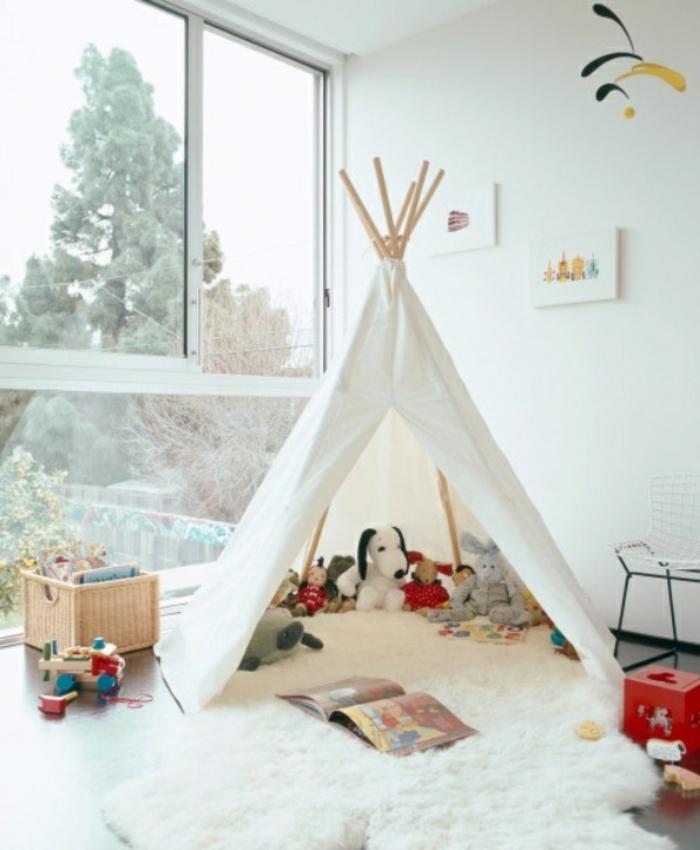 cabane-enfant-tente-enfant-jouer-dedans-dans-une-tente-fenetre-vue