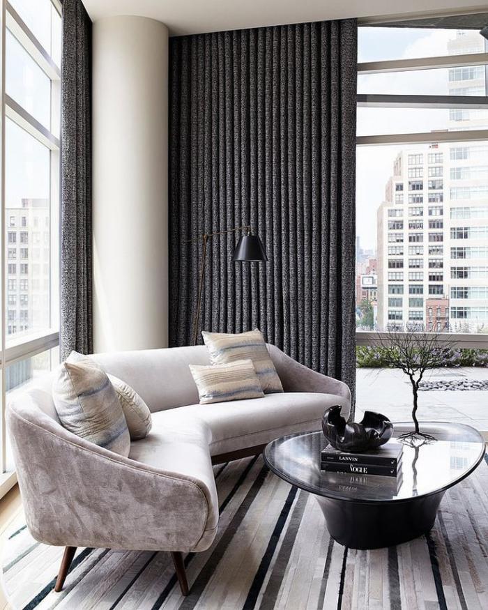 canapé-arrondi-canapé-élégant-décoration-salle-de-séjour