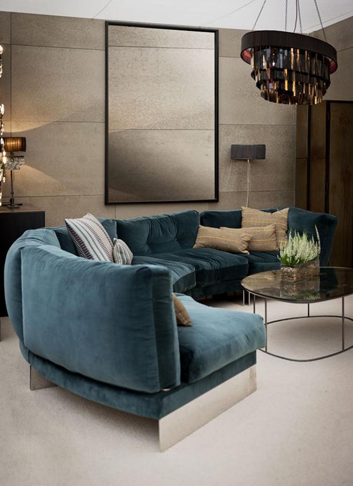 canapé-arrondi-canapé-circulaire-bleu-salon-moderne