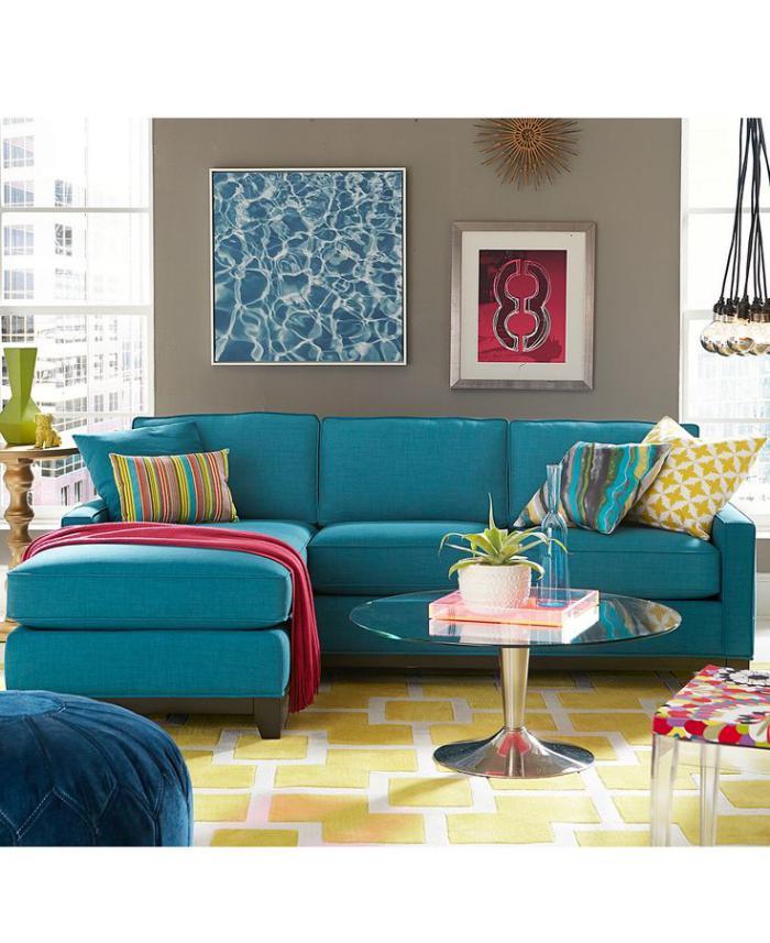 canapé-composable-canapé-d'angle-bleu-salon-coloré