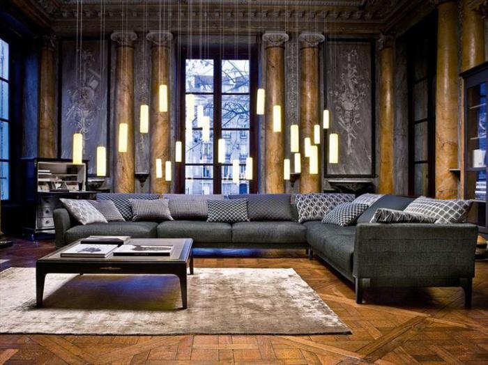 canapé-composable-décor-magnifique-style-chic-éclectique