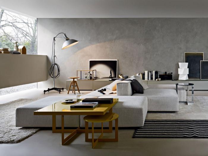 canapé-composable-salon-gris-style-minimaliste