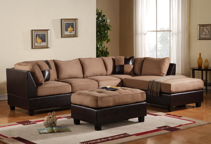 canapé-composable-sofa-marron-déco-salle-de-séjour