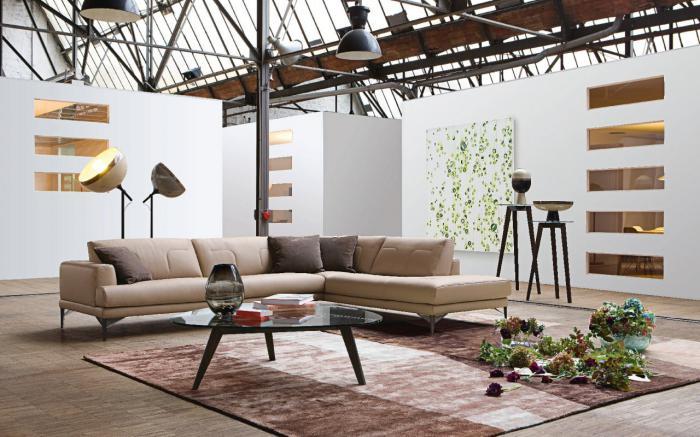 Le canap composable mod les contemporains - Salon en cuir roche bobois ...