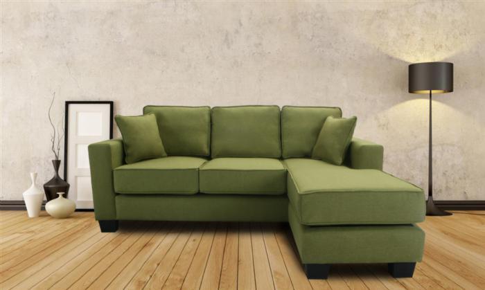 canapé-composable-vert-joli-design-de-canapé-contemporain