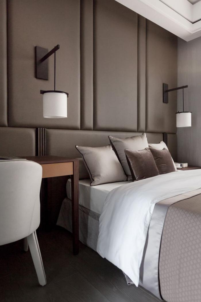 chambre-à-coucher-moderne-couleur-taupe
