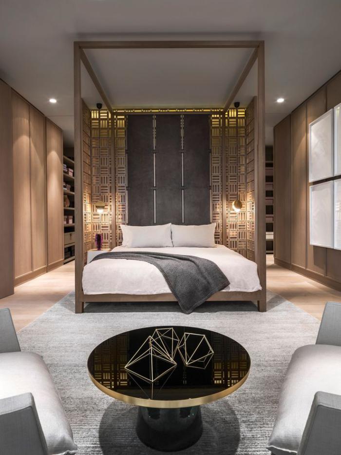 chambre-à-coucher-moderne-futuriste-deux-grands-fauteuils
