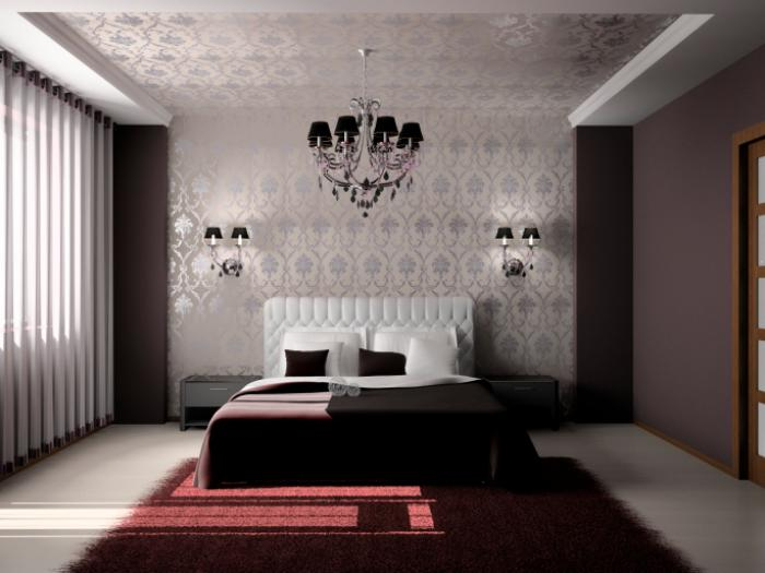 finest coucher moderne romantique chambre with chambre coucher romantique. Black Bedroom Furniture Sets. Home Design Ideas