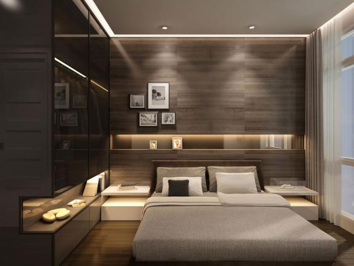 chambre-à-coucher-moderne-jolie-petite-chambre-à-coucher