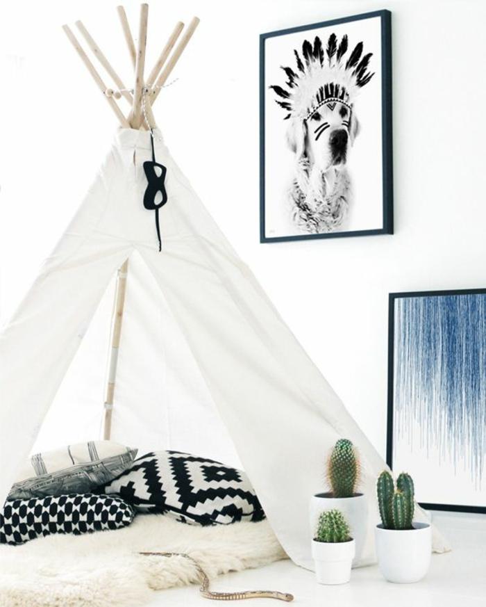 chambre-ado-filledeco-chambre-adolescente-tipi-tente-dans-la-maison