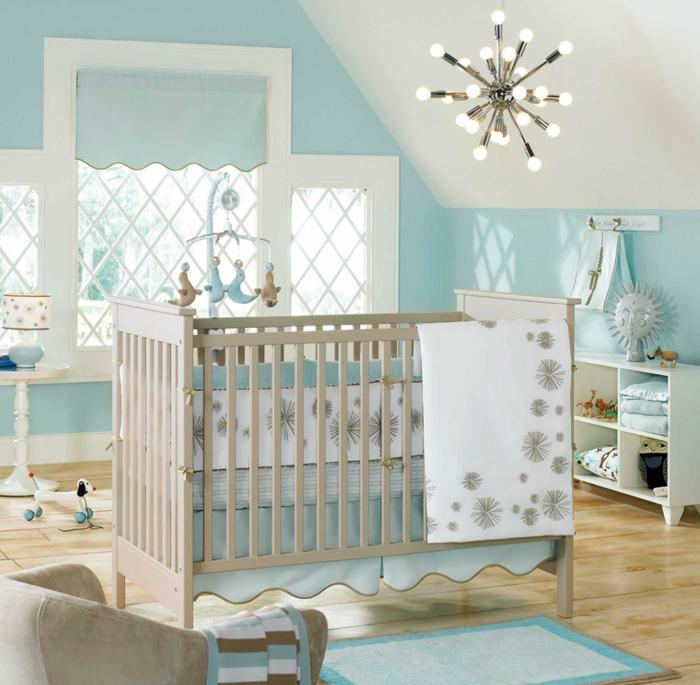 chambre-bebe-linge-lit-bébé-le-lit-de-votre-bébé-déco-bleu