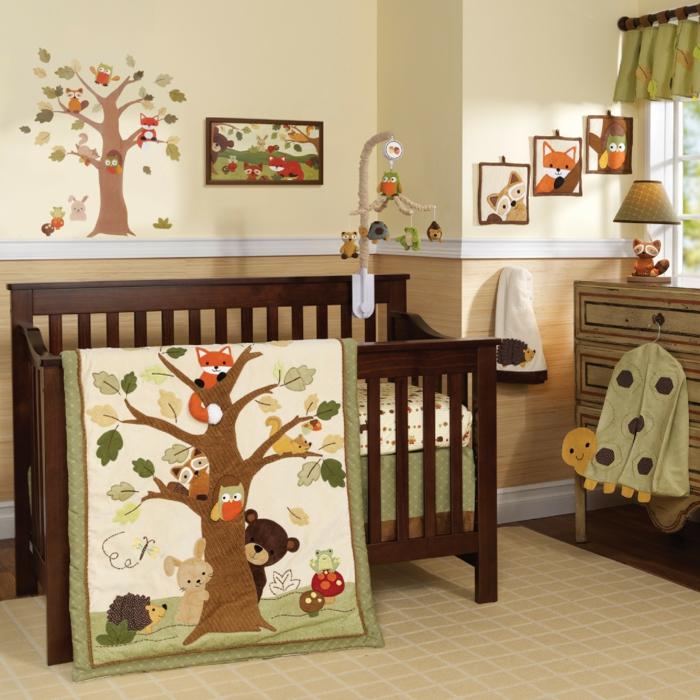 chambre-bebe-linge-lit-bébé-le-lit-de-votre-bébé-idée