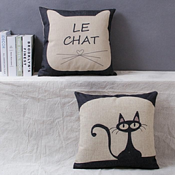 chambre-enfant-les-taies-oreiller-pour-enfant-chat-noir