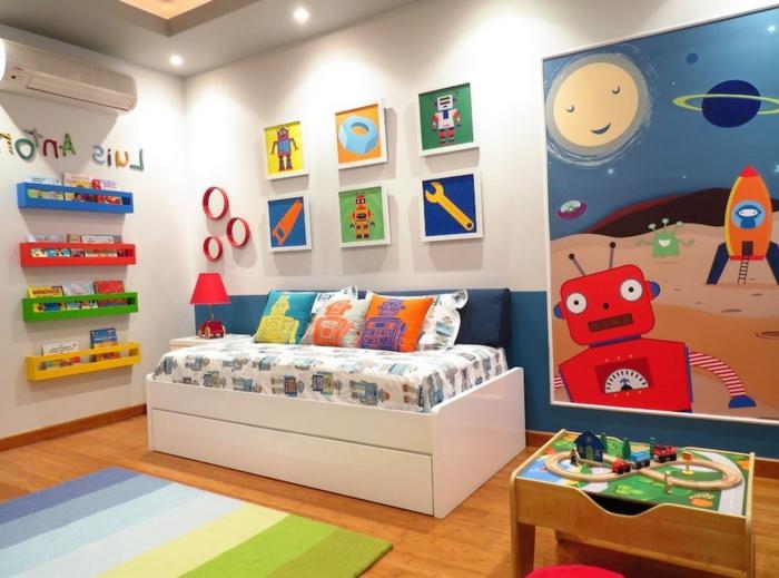 Quelle est la meilleure option pour l 39 oreiller enfant for Decoration chambre robot