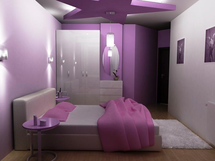 chambre-violette-chambre-à-coucher-jolie-féminine