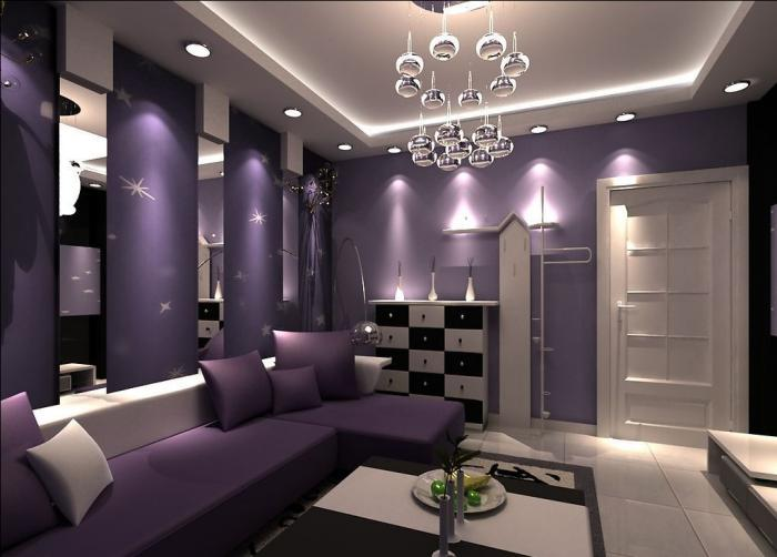 chambre-violette-déco-violette-et-pourpre