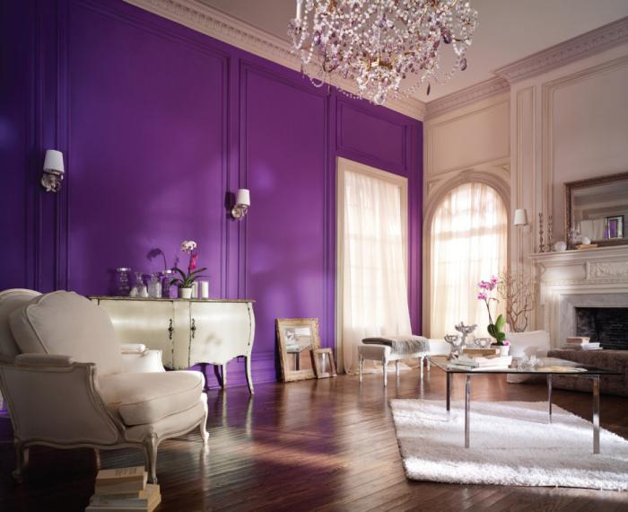la chambre violette en 40 photos. Black Bedroom Furniture Sets. Home Design Ideas