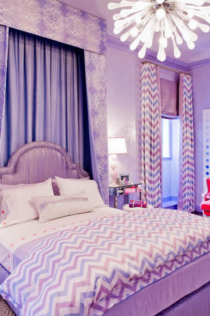chambre-violette-style-baroque-chambre-à-coucher