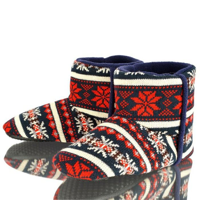 charentaise-homme-pantoufles-hommes-tricotes-colores-pour-avoir-chaud-chez-vous