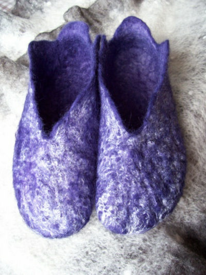 chausson-isotoner-violet-pour-votre-aimant-chausson-isotoner-pour-hommes