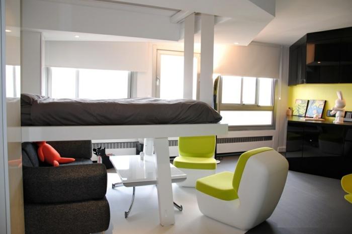 chouette-chambre-ado-garçon-aménagement-chambre-bois-et-vert
