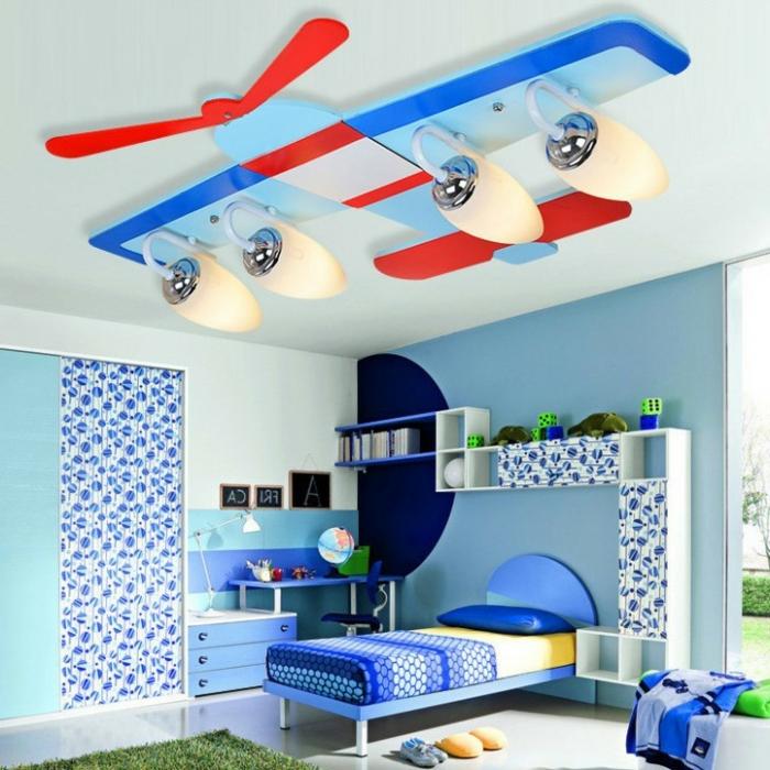 comment-aménager-la-chambre-enfant-créative-l-avion