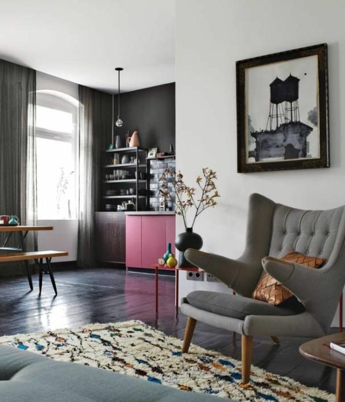 Savourer la beaut de tapis berb re en 44 photos - Comment choisir le bon tapis de salon ...
