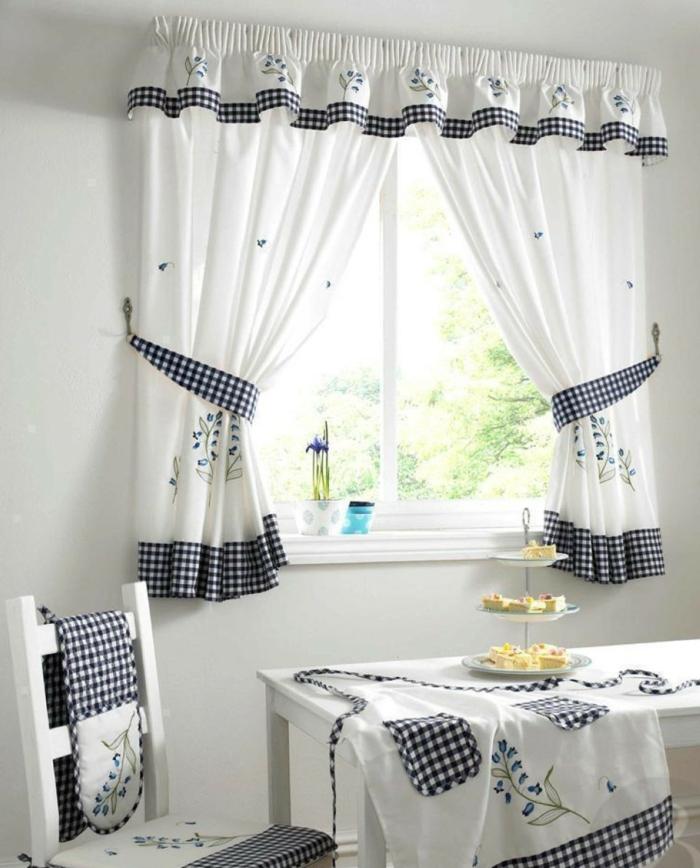 les derni res tendances pour le meilleur rideau de cuisine. Black Bedroom Furniture Sets. Home Design Ideas