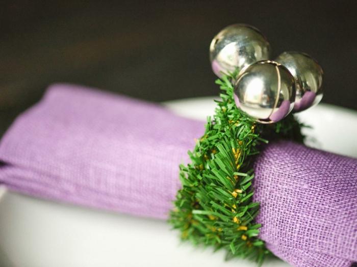 Cr ez vous m mes le meilleur rond de serviette de no l - Comment faire une decoration de table ...