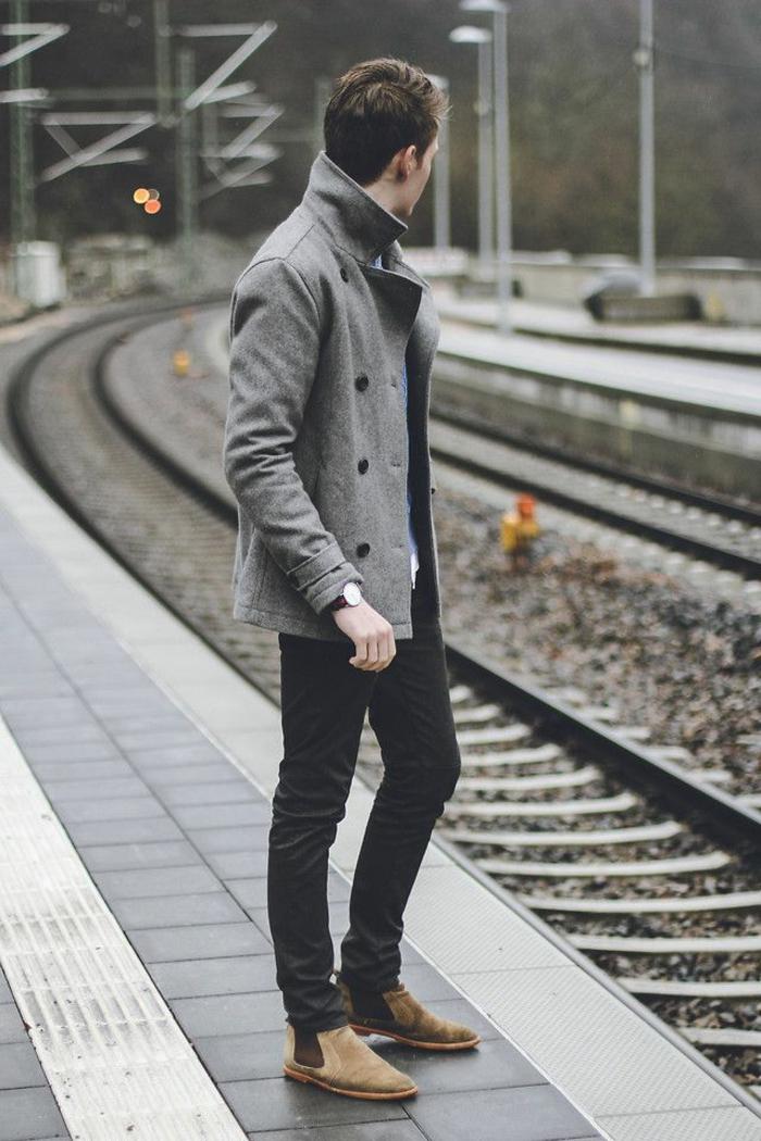 confort-en-hiver-manteaux-homme-veste-hiver-homme-élégant-coat-gris