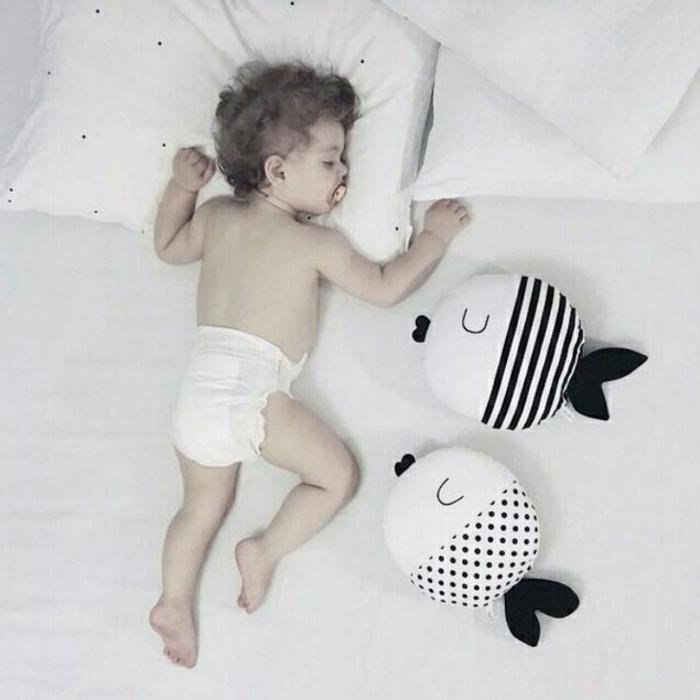 cool-chambre-enfant-les-taies-oreiller-pour-enfant-bébé-endormi-coussinets-possions
