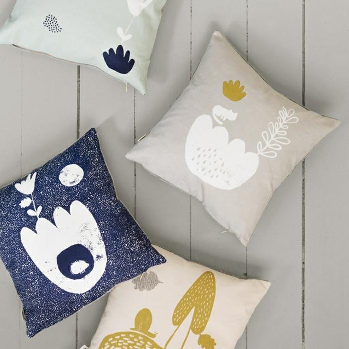 cool-photo-belle-idée-lit-oreiller-enfant-déco-chambre-coussines