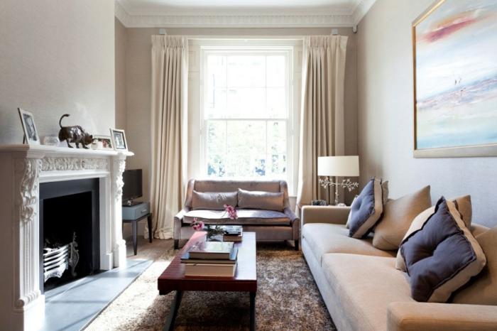 cosy-salle-de-séjour-canapé-convertible-confortable-contemporaine