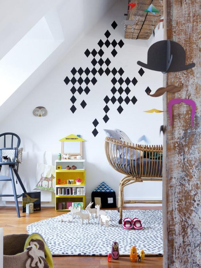 couffin-pour-bébé-chambre-bébé-artistique