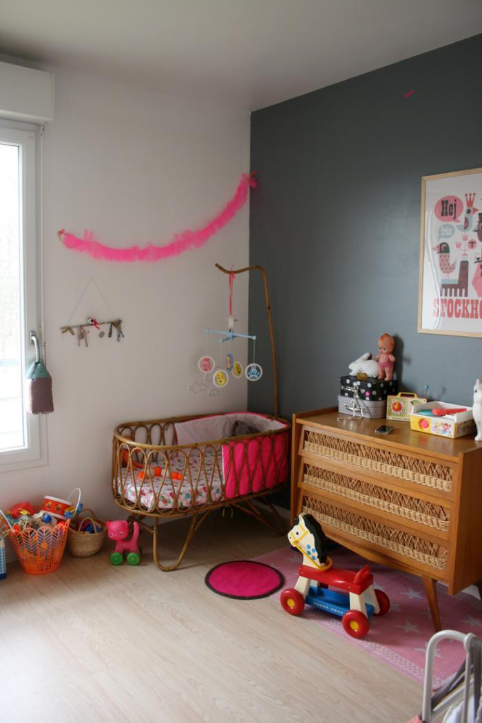 Le couffin pour b b beaux paniers modernes et r tro for Fabriquer deco chambre bebe