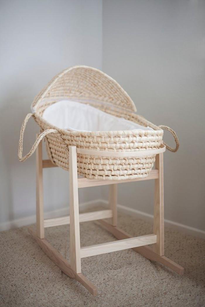 Chambre Bebe Quelle Peinture : Le couffin pour bébé beaux paniers modernes et rétro