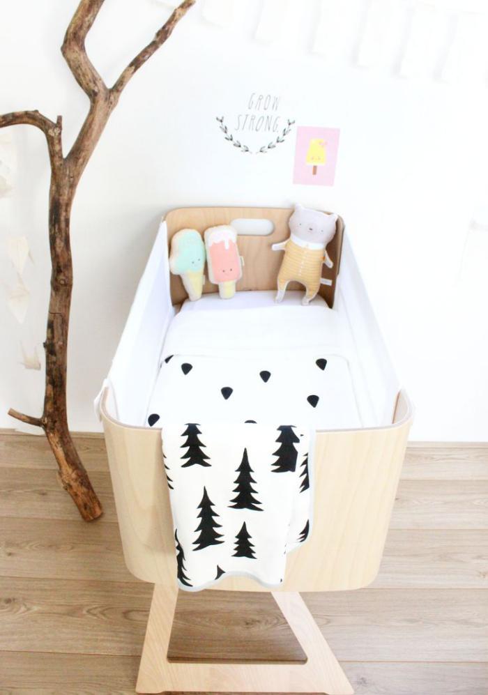wonderful fabriquer un panier a linge #14: couffin-pour-bébé-petit