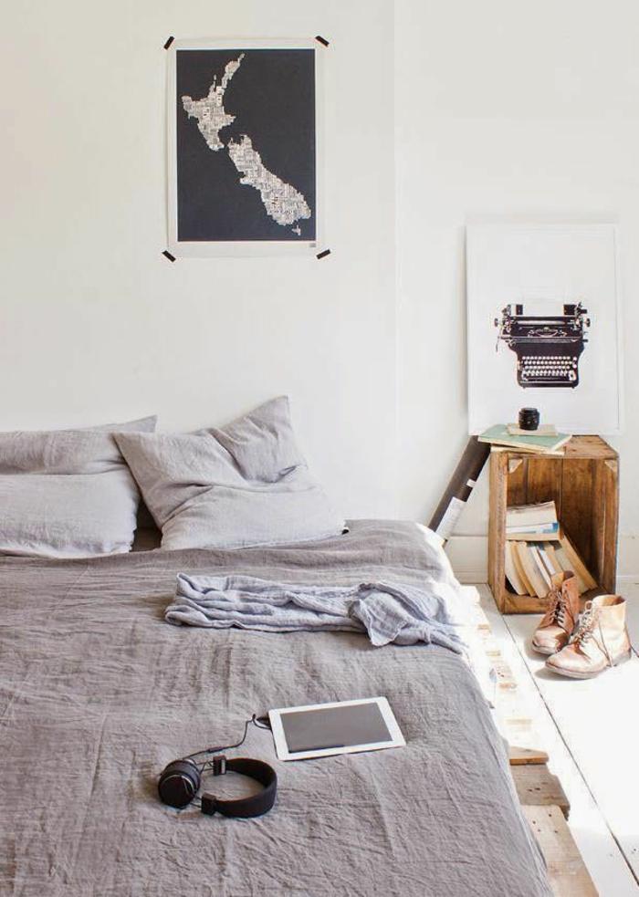 couleur-parme-violet-couleur-idées-déco-chambre-à-coucher