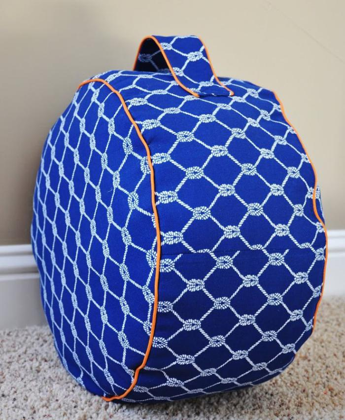 coussins-de-sol-coussin-rond-géométrique-portable