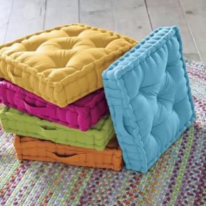 Les coussins de sol - ajouter du charme à l'intérieur!