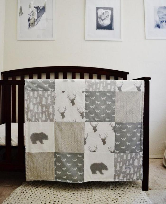 couverture-patchwork-chambre-à-coucher-neutre