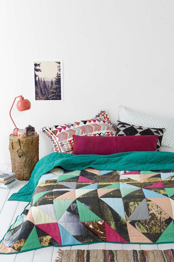 couverture-patchwork-couverture-pour-lit-chambre-à-coucher