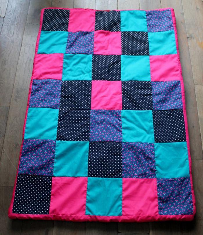 couverture-patchwork-plaid-patchwork-à-carreaux